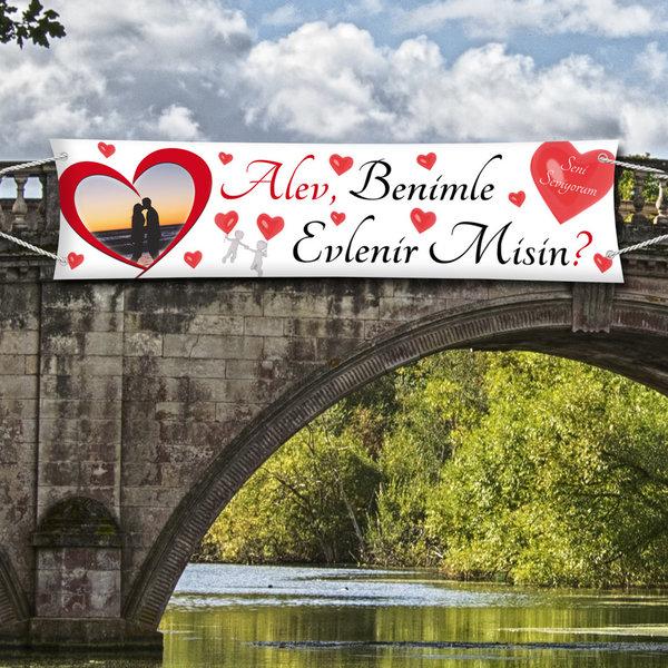 Heiratsantrag Plakat